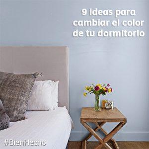 Ideas para cambiar color de tu dormitorio